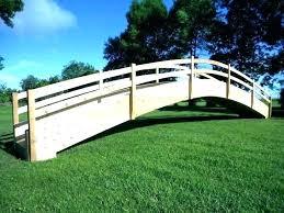 wooden garden bridges ideal arched garden bridge plans wooden garden bridge s s s wooden arched garden bridge