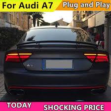Автомобильный Стайлинг для Audi <b>A7 задний фонарь</b> в сборе ...