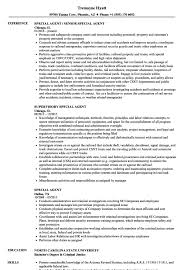 Fbi Resume Template Fbi Agent Resume Sample Special Examples Example Templates 15