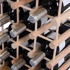 Wine Racks For Cabinets Wooden Wine Holder Bottle Rack For 40 Bottles Wine Racks