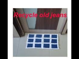 Old Jeans Recycle| <b>Floor mat</b>,<b>Baby</b> sheet,Door Mat,Table Mat ...