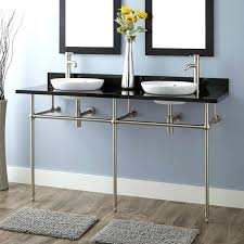 double console sink art double console sink for semi recessed sinks classic double sink console white double console sink