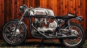 flashback 1966 triton cafe racer at cyril huze post custom