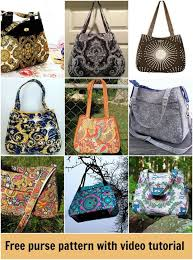 Handbag Patterns Interesting Swoon Ethel Free Pattern And Video Bags To Sew Pinterest