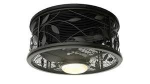 enclosed ceiling fan. Approved Cage Enclosed Ceiling Fans Lamp New Arrival Rubbed Bronze Retro Style Indoor Fan