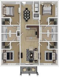 four bedroom apartment. four bedroom on with regard to luxury ccu conway student housing close campus 21 apartment r