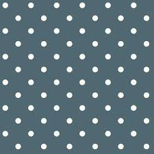 Dots On Dots Wallpaper in Navy and White from the Magnolia Home Collection  by Joanna Gaines ...