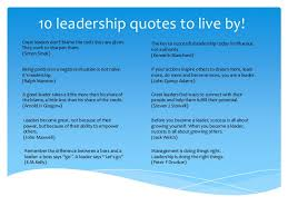 Good Leader Quotes Custom 48 Leadership Quotes To Live By