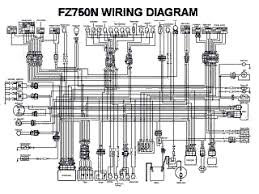 fz750n wiring diagram