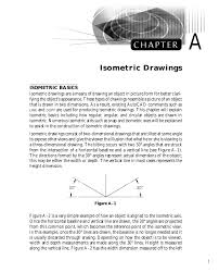 Autocad provides some tools to aid us in creating the drawing, but not very many. Isometric Drawing Chapter