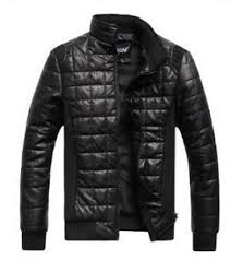 Mens Quilted Jacket | eBay & Men's Quilted Leather Jacket Adamdwight.com