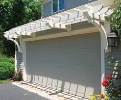 garage door arborMarston Garage Trellis System  Walpole Outdoors