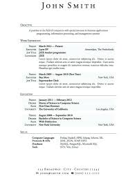 College Application Resume Example Amazing High School Resume Samples Free Student Examples For Teens College