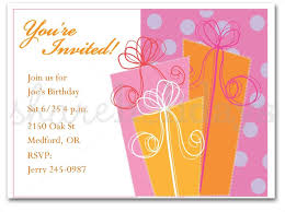 Adult Birthday Invitation Template Examples Of Birthday Invitations