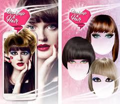 makeup hair salon pic editor