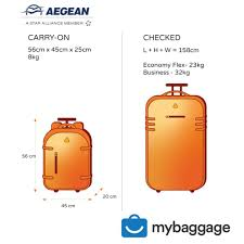 Aegean Travel Light My Baggage Luggage Shipping