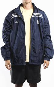 adidas vintage jacket. vintage new york yankees adidas windbreaker jacket sz xxl
