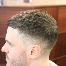 Low Fade Short Top Highlights Hair