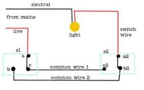 2 way light switch wire colours images two way light switching how to wire a two way switch