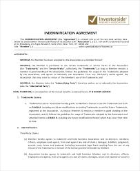 indemnity letter sle 14