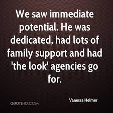 Family Support Quotes Amazing Vanessa Helmer Quotes QuoteHD