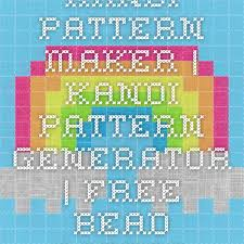 Perler Bead Pattern Maker Fascinating Kandi Pattern Maker Kandi Pattern Generator Free Bead Pattern