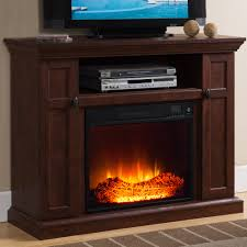 prokonian electric fireplace with 46 mantle with storage wq001 cherry com