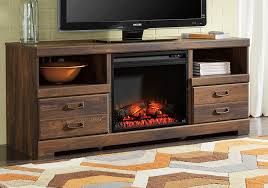 quinden fireplace tv stand