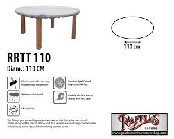 raffles covers round table top cover 110cm