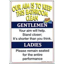 just bathroom signs. Lovely Bathroom Signs For Business Or Just Funny Rules 89