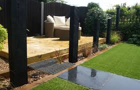 garden design with sleepers. streetly landscape garden design decking paving lighting water feature sleepers with g