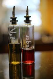 glass etched oil  vinegar bottles  terri johnson creates