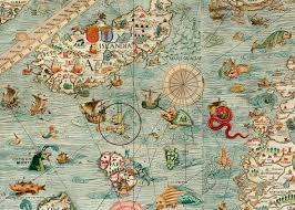 sea monster world map. Delighful Monster MapOMonsters Anthropomorphic Hysterical U0026 Caricature Maps To Sea Monster World Map Q
