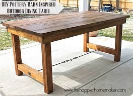 Ana White Outdoor Modern Bar Table X Base Diy Projects Inside Wood