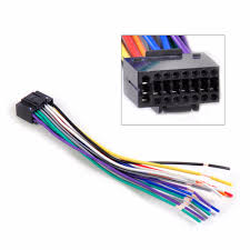 dwcx new car radio stereo wire wiring harness cd player plug adapter dwcx new car radio stereo wire wiring harness cd player plug adapter cable cord fit for kenwood car stereo 16 pin connector in cables