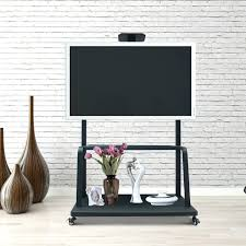 Tv Stands For 50 Flat Screens Tv Stand Mobile Large Screen Tv Stands Luxor Fp3500 Adjustable