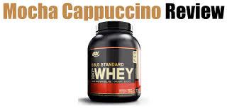 optimum nutrition mocha cappuccino review best flavor ever