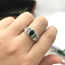 Man Finger Ring Design In Silver Us 29 99 20 Off Nature Sapphire Mens Rings Good Design Atmosphere 925 Silver Finger Ring Number Can Be Customized For Man In Rings From Jewelry
