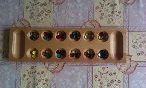 Mancala Wooden Board Game Mancala Tame The Board Game 51
