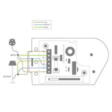 slide dimmer v white w mr resistor lighting slide dimmer 240v white 300w