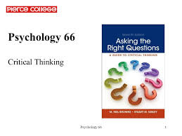 Critical Thinking About Research  Psychology and Related Fields     SlideShare Teaching Critical Thinking in Psychology  A Handbook of Best Practices  st  Edition