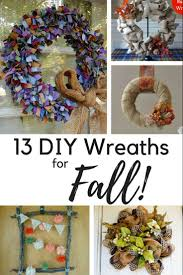 13 diy wreaths for fall learn how to make these beautiful fall wreaths for your