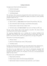 Example Of Argumentative Essay Topics Example Argumentative Essay