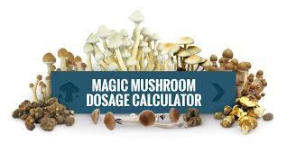 Magic Mushrooms Dosage Calculator