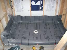 concrete shower install shower pan liner shower pan liner installation concrete floor installing shower pan liner