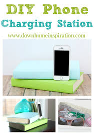 Make Charging Station Diy Phone Charging Station Disguised As Books Down Home Inspiration