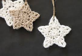 Crochet Star Pattern Custom Crochet Stars Free Ornament Pattern Persia Lou
