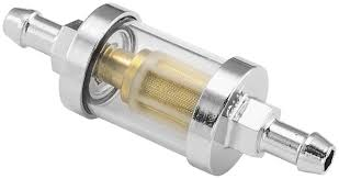 amazon com biker's choice clear view glass fuel filter automotive inline fuel filter 5/16 Inline Fuel Filter #35