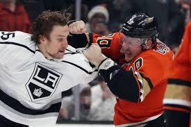 The Ac Pod Anaheim Ducks Vs Los Angeles Kings Minnesota