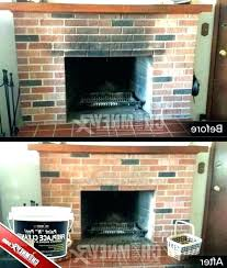 cleaning brick cleaning brick fireplace front how to clean exterior home design do you house without